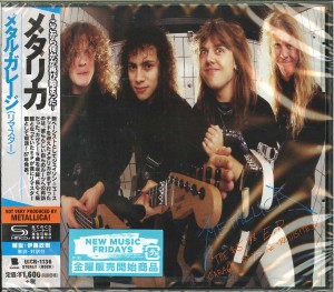 METALLICA The $5.98 E.P. - Garage Days Re-Revisited (REMASTERED JAPAN SHM-CD UICR-1136)