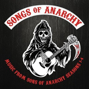 Music From Sons of Anarchy 1-4 CLEAR 2xLP -2015