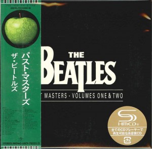 THE BEATLES Past Masters JAPAN SHM 2xCD UICY-78531