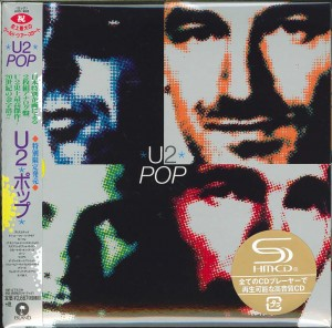 U2 POP JAPAN SHM CD cardboard sleeve (UICI-9063)