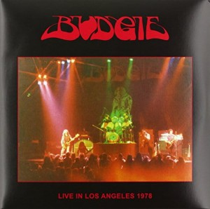 BUDGIE Live in Los Angeles 1978 - 2xLP