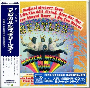THE BEATLES Magical Mystery Tour SHM CD JAPAN Cardboard (UICY-76974)