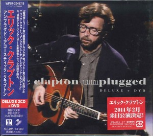 ERIC CLAPTON Unplugged DELUXE JAPAN 2CD+DVD WPZR-30487