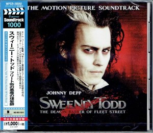 Stephen Sondheim Sweeney Todd JAPAN CD WPCR-28592