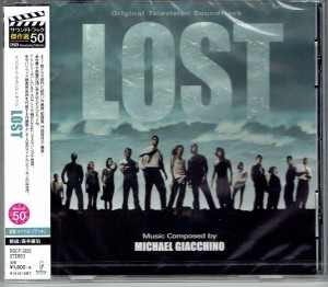 Michael Giacchino LOST Zagubieni Japan CD (RBCP-2833)