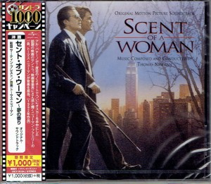 THOMAS NEWMAN Scent Of A Woman Zapach Kobiety JAPAN CD UICY-78194