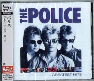 THE POLICE Greatest Hits SHM-CD UICY-25263