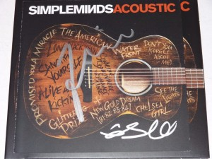 SIMPLE MINDS Acoustic  (exclusive signed CD)