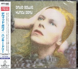 DAVID BOWIE Hunky Dory JAPAN CD WPCR-80087
