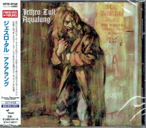 JETHRO TULL Aqualung - JAPAN CD+bonus (WPCR-80068)