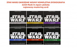 JOHN WILLIAMS STAR WARS Japan 6xCD remaster 2018