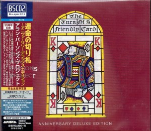 ALAN PARSONS PROJECT Turn Of A Friendly Card 2xCD JAPAN (SICP-30798)