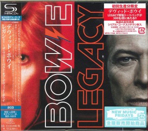 DAVID BOWIE Legacy - JAPAN 2x SHM-CD (WPCR-17561)