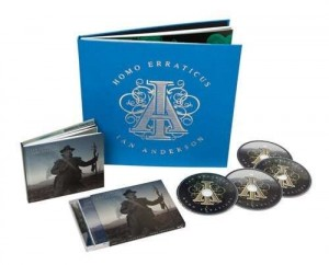 IAN ANDERSON Homo Erraticus LIMITED DELUXE 2xCD + 2xDVD