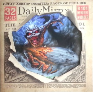 RSD16 IRON MAIDEN Empire Of The Clouds - 12'