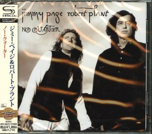 JIMMY PAGE & ROBERT PLANT No Quarter JAPAN SHM UICY-25378