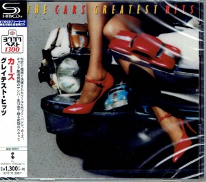 THE CARS Greatest Hits JAPAN SHM-CD WPCR-26213