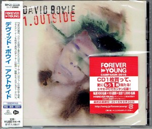 DAVID BOWIE Outside - JAPAN CD WPCR-80335 (2016)