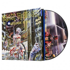 IRON MAIDEN Somewhere In Time - vinyl picture disc (5099997295518)