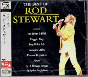 ROD STEWART The Best Of Rod Stewart SHM-CD UICY-25277