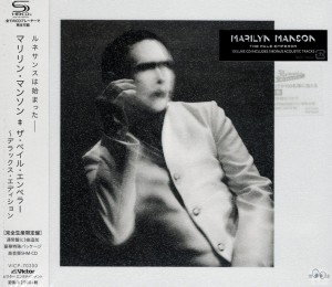MARILYN MANSON Pale Emperor SHM CD JAPAN (VICP-70200)