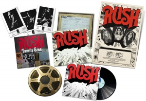 RUSH Rediscovered limited LP BOX