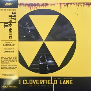 BEAR McCREARY 10 Cloverfield Lane - 2x180g LP