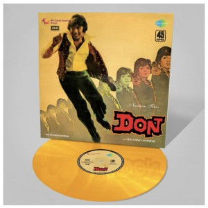 RSD17 Don OST 1977 - GOLD VINYL RECORD STORE DAY 45rpm