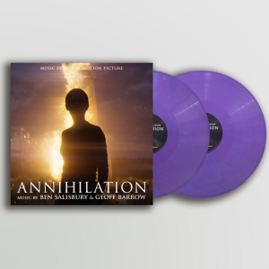 BEN SALISBURY & GEOFF BARROW Annihilation (PURPLE WITH BLUE & WHITE SPLASH SHIMMER VINYL)