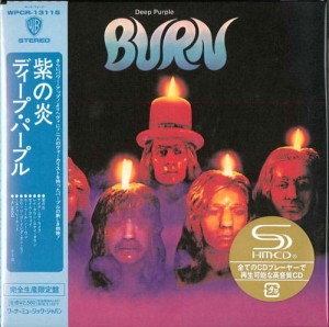 DEEP PURPLE Burn SHM-CD japan miniLP (WPCR-13115)