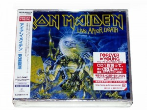 IRON MAIDEN Live After Death JAPAN 2xCD+VIDEO (WPCR-80017)