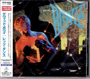 DAVID BOWIE Let's Dance JAPAN CD WPCR-80098