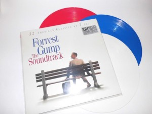 FORREST GUMP OST limited 3 COLORED VINYL