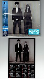 U2 Songs Of Experience JAPAN LIMITED CD + BONUS CALENDAR (UICI-9068)