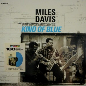 MILES DAVIS Kind Of Blue CLEAR BLUE VINYL