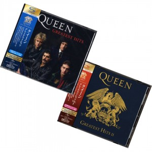 QUEEN Greatest Hits 2x SHM JAPAN VOL.1 + 2 UICY-15001/UICY-15002
