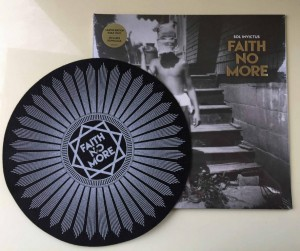 FAITH NO MORE Sol Invictus GOLD VINYL + Slipmat