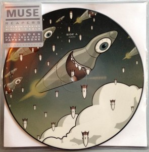 RSD16 MUSE Reapers RECORD STORE DAY 7' Picture Disc 45rpm