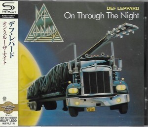 DEF LEPPARD On Through The Night  JAPAN SHM-CD UICY-25114