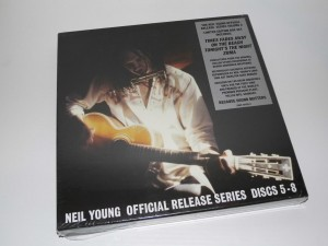 RSD14 NEIL YOUNG Official Release Series Discs 5-8 4xLP box+ 4x t-shirts