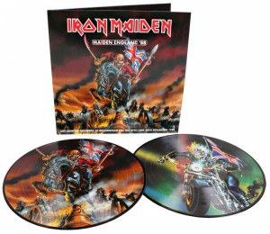 IRON MAIDEN Maiden England 2xLP Picture Disc