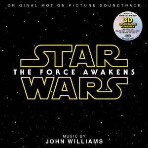 JOHN WILLIAMS Star Wars Force Awakens HOLOGRAM 2xLP