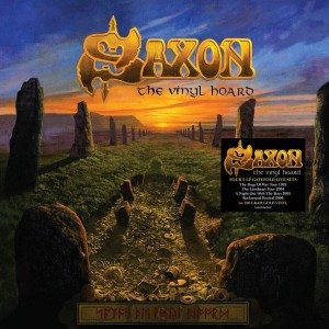 SAXON The Vinyl Hoard 180g Limited Box 8x GOLD LP