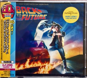BACK TO THE FUTURE OST Japan CD UICY-77583