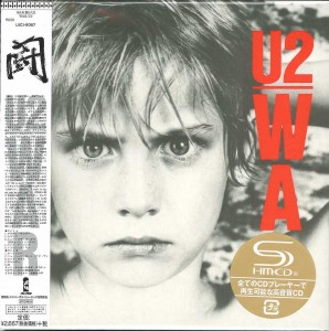 U2 War - JAPAN SHM CD LIMITED cardboard sleeve (UICI-9057)