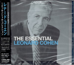 LEONARD COHEN The Essential (Re-Brand) JAPAN 2xCD (SICP-2901)