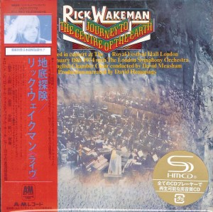 RICK WAKEMAN Journey To The Centre Of The Earth SHM-CD+DVD (UICY-77779)