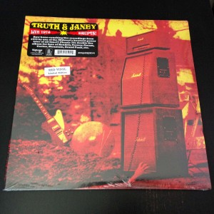 TRUTH AND JANEY Erupts! (2LP+POSTER) RED VINYL!