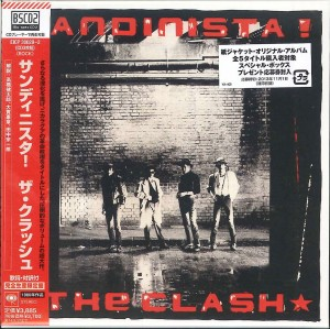 THE CLASH Sandinista! 3xBLU-SPEC2 JAPAN EICP-30020