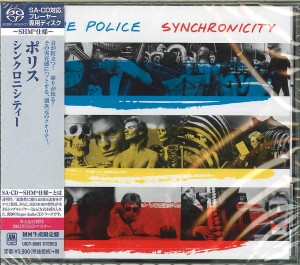 THE POLICE Synchronicity SHM SACD JAPAN 2014 UIGY-9605